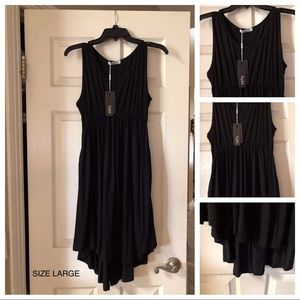Dresses & Skirts - Black hi low dress new